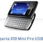 Sony Xperia X10 Mini Pro USB Driver