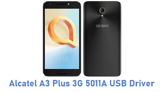 Alcatel A3 Plus 3G 5011A USB Driver