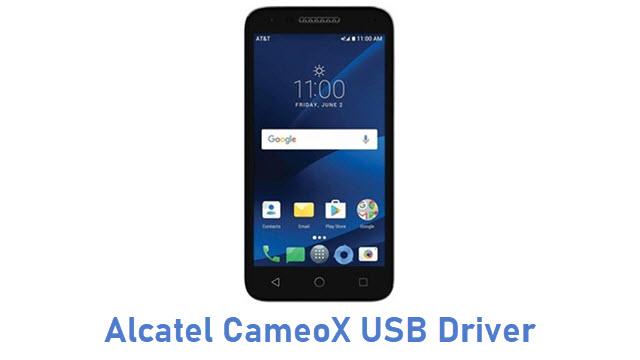Alcatel CameoX USB Driver