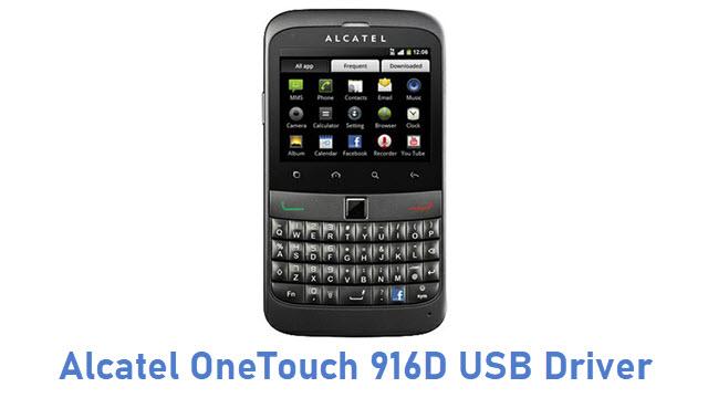 Alcatel OneTouch 916D USB Driver