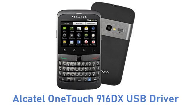 Alcatel OneTouch 916DX USB Driver