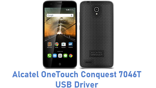 Alcatel OneTouch Conquest 7046T USB Driver