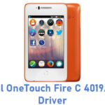 Alcatel OneTouch Fire C 4019A USB Driver