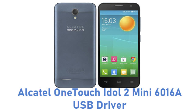 Alcatel OneTouch Idol 2 Mini 6016A USB Driver