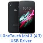 Alcatel OneTouch Idol 3 (4.7) 6029Y USB Driver
