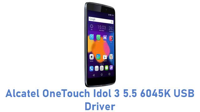 Alcatel OneTouch Idol 3 5.5 6045K USB Driver