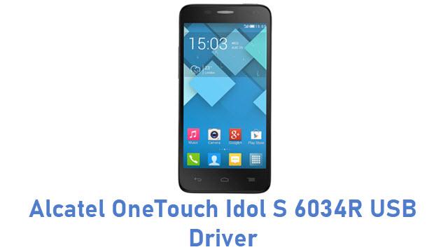 Alcatel OneTouch Idol S 6034R USB Driver