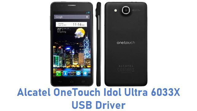 Alcatel OneTouch Idol Ultra 6033X USB Driver