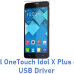 Alcatel OneTouch Idol X Plus 6043D USB Driver
