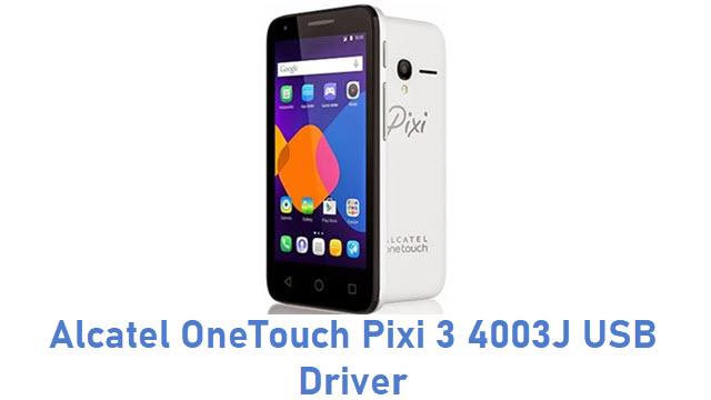 Alcatel OneTouch Pixi 3 4003J USB Driver