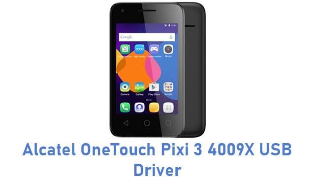 Alcatel OneTouch Pixi 3 4009X USB Driver