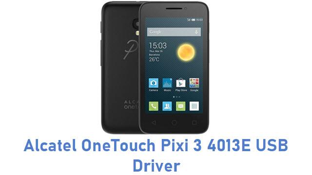Alcatel OneTouch Pixi 3 4013E USB Driver