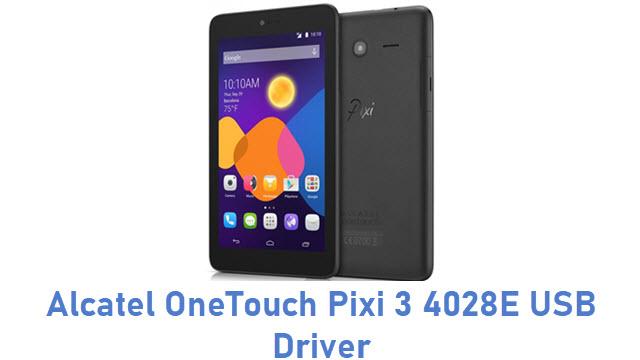 Alcatel OneTouch Pixi 3 4028E USB Driver