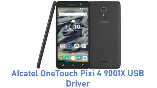 Alcatel OneTouch Pixi 4 9001X USB Driver