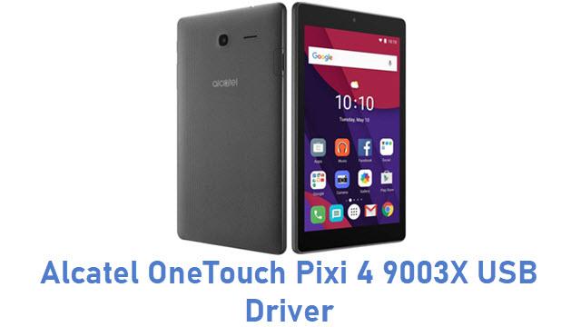 Alcatel OneTouch Pixi 4 9003X USB Driver