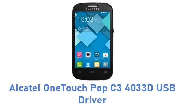 Alcatel OneTouch Pop C3 4033D USB Driver