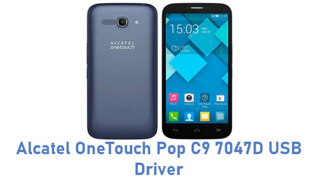 Alcatel OneTouch Pop C9 7047D USB Driver