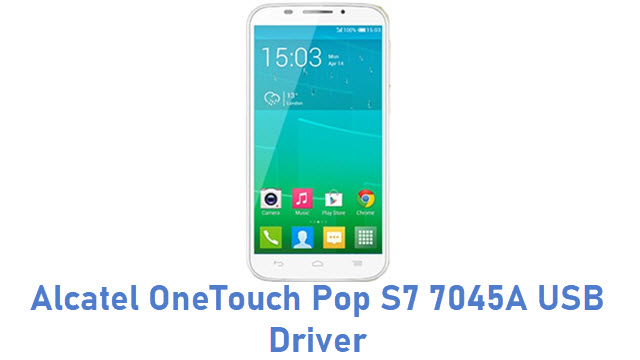Alcatel OneTouch Pop S7 7045A USB Driver