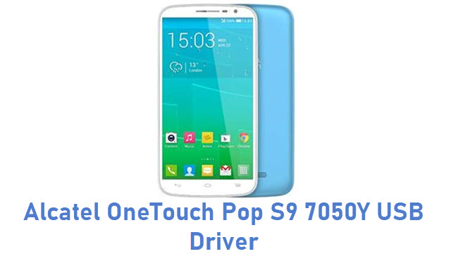 Alcatel OneTouch Pop S9 7050Y USB Driver