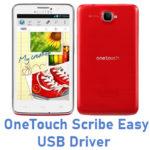 Alcatel OneTouch Scribe Easy 8000E USB Driver