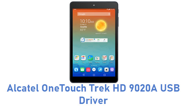 Alcatel OneTouch Trek HD 9020A USB Driver