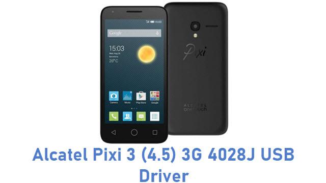 Alcatel Pixi 3 (4.5) 3G 4028J USB Driver
