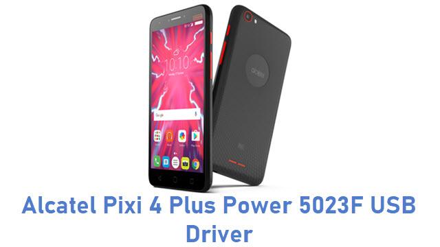Alcatel Pixi 4 Plus Power 5023F USB Driver