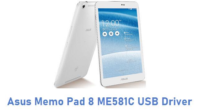 Asus Memo Pad 8 ME581C USB Driver
