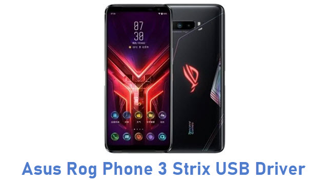 Asus Rog Phone 3 Strix USB Driver