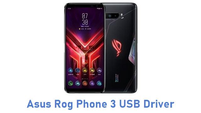 Asus Rog Phone 3 USB Driver