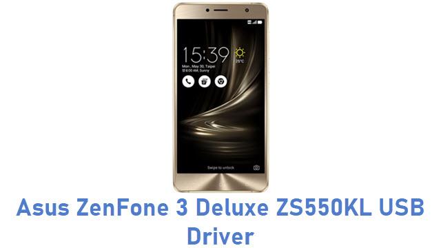 Asus ZenFone 3 Deluxe ZS550KL USB Driver