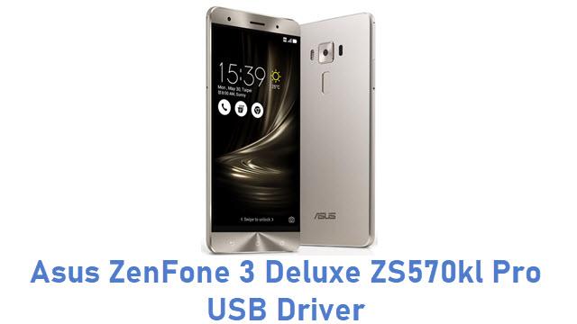Asus ZenFone 3 Deluxe ZS570kl Pro USB Driver