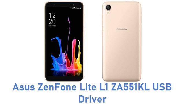 Asus ZenFone Lite L1 ZA551KL USB Driver