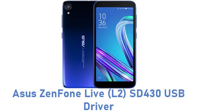 Asus ZenFone Live (L2) SD430 USB Driver