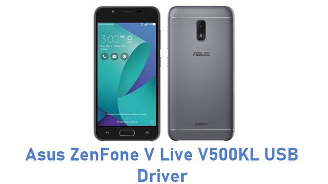 Asus ZenFone V Live V500KL USB Driver
