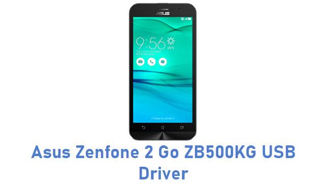 Asus Zenfone 2 Go ZB500KG USB Driver