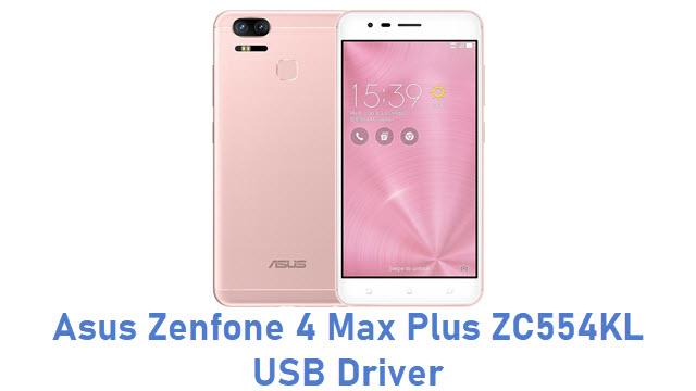 Asus Zenfone 4 Max Plus ZC554KL USB Driver
