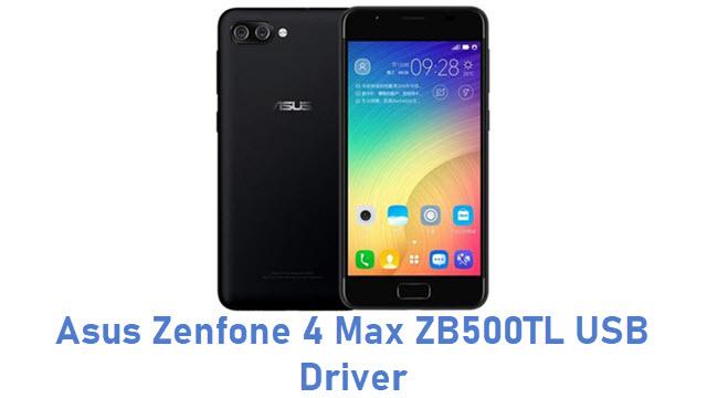 Asus Zenfone 4 Max ZB500TL USB Driver