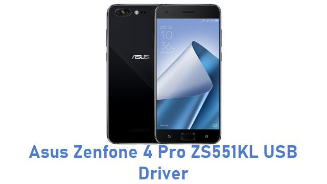Asus Zenfone 4 Pro ZS551KL USB Driver
