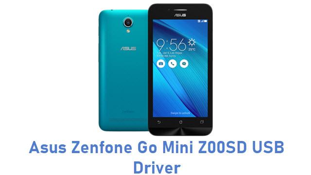 Asus Zenfone Go Mini Z00SD USB Driver