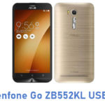 Asus Zenfone Go ZB552KL USB Driver