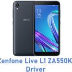 Asus Zenfone Live L1 ZA550KL USB Driver