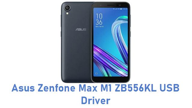 Asus Zenfone Max M1 ZB556KL USB Driver