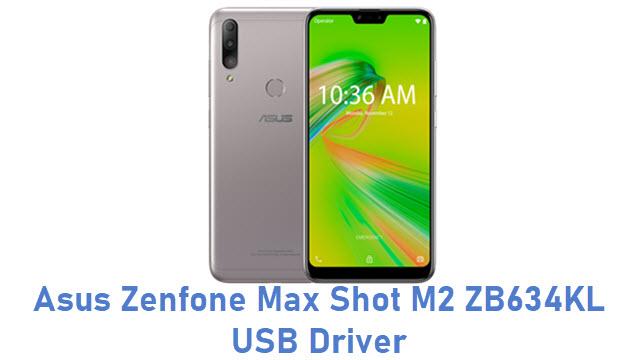 Asus Zenfone Max Shot M2 ZB634KL USB Driver