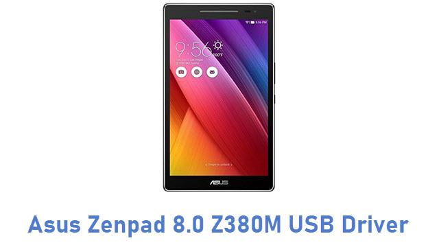 Asus Zenpad 8.0 Z380M USB Driver