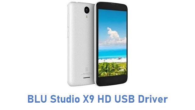 BLU Studio X9 HD USB Driver