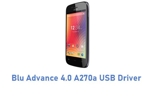 Blu Advance 4.0 A270a USB Driver