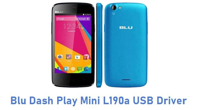 Blu Dash Play Mini L190a USB Driver