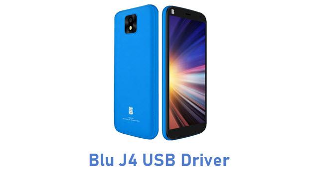 Blu J4 USB Driver