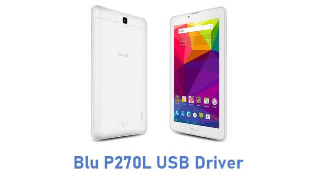 Blu P270L USB Driver